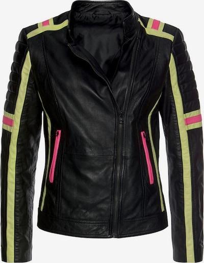 KangaROOS Jacke in gelb / pink / schwarz, Produktansicht