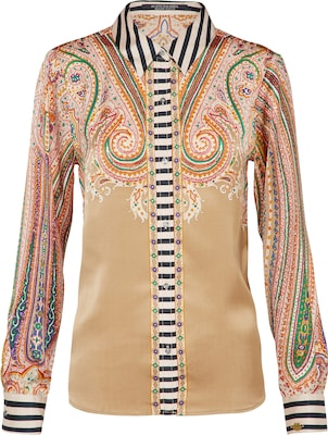 SCOTCH & SODA Bluse 'placement print'