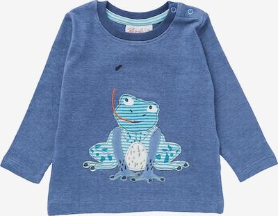People Wear Organic Shirt in blau / türkis / rauchblau / mischfarben / weiß, Produktansicht