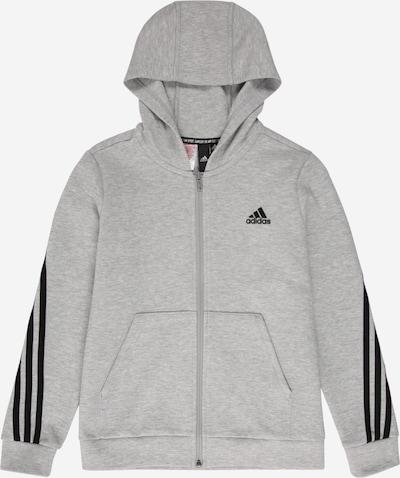 ADIDAS PERFORMANCE Sportowa bluza rozpinana w kolorze szary / czarnym, Podgląd produktu