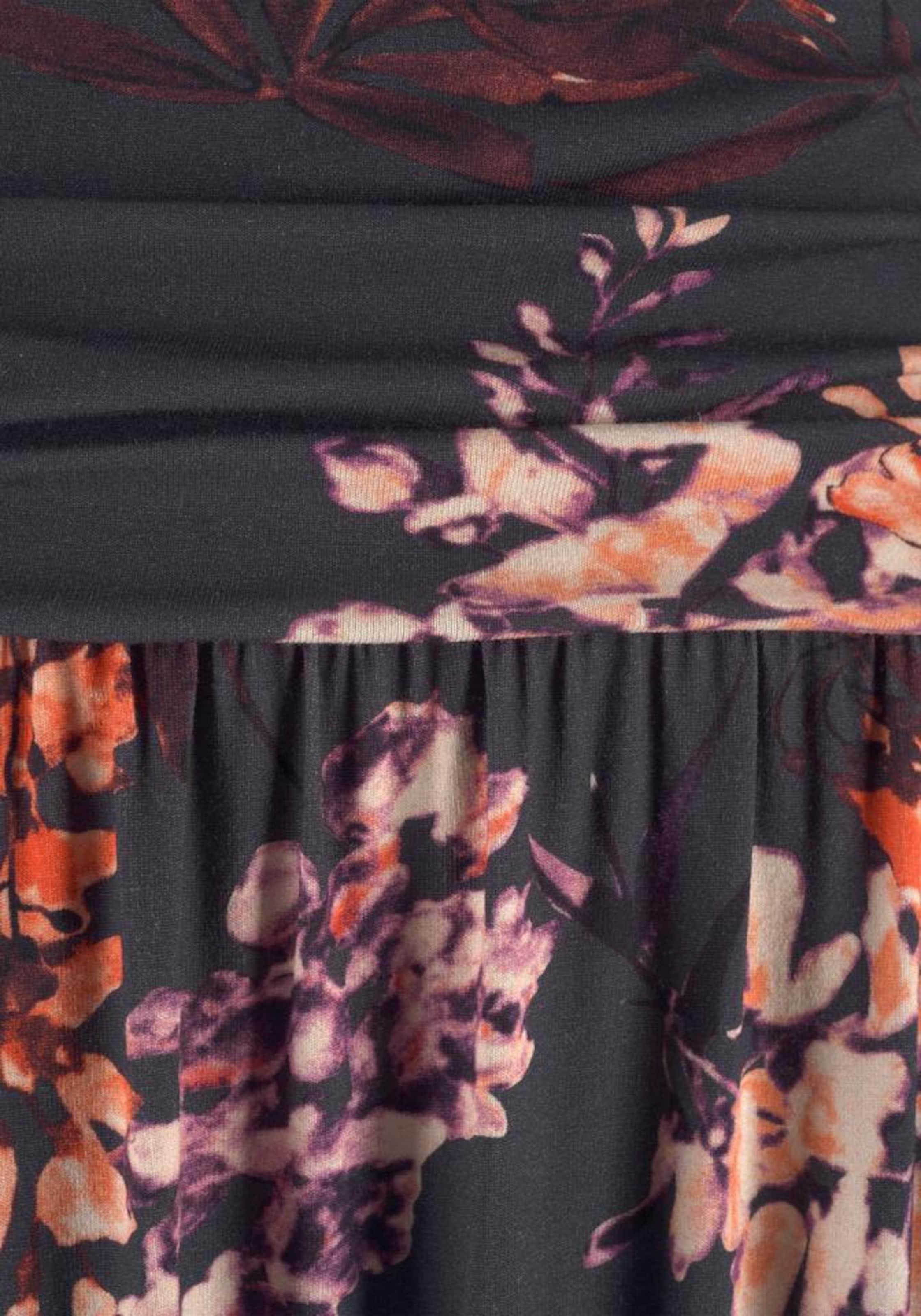 LASCANA Strandklänning i blandade färger / svart