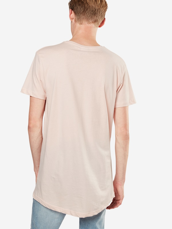 Urban Classics T-Shirt 'Shaped Long Tee'