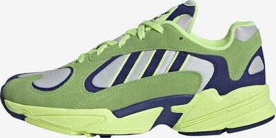 ADIDAS ORIGINALS Sneaker 'Yung-1' in navy / neongelb, Produktansicht