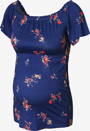 Envie de Fraise Umstandsshirt 'Ginevra' in blau / grün / orange / rot, Produktansicht
