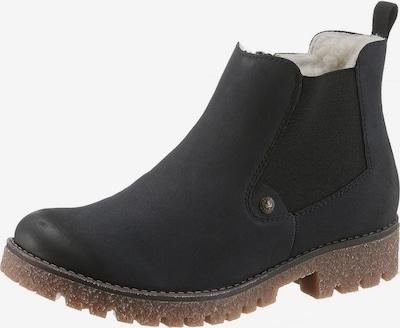 RIEKER Chelsea-Boot in nachtblau / brokat, Produktansicht