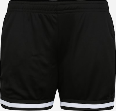 Urban Classics Curvy Nohavice - čierna / biela, Produkt