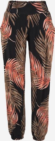 Pantaloni largi LASCANA pe maro / negru, Vizualizare produs