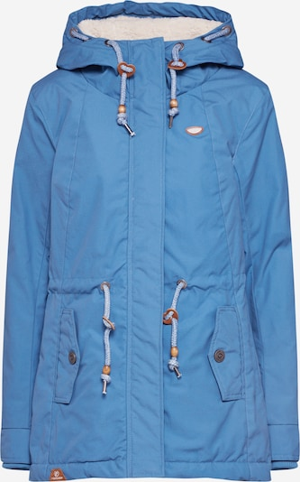 Ragwear Winterjas 'MONADIS' in de kleur Hemelsblauw: Vooraanzicht