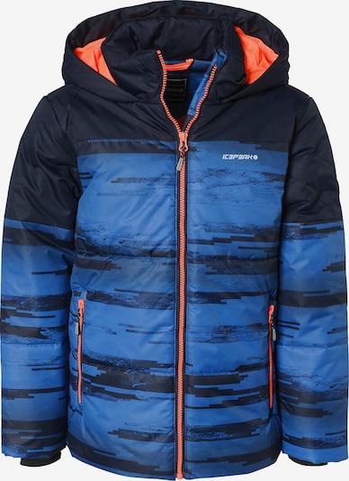 ICEPEAK Winterjacke 'Keller' in blau / schwarz, Produktansicht