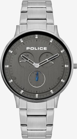 POLICE Herren-Uhr in silber, Produktansicht