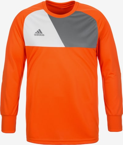 ADIDAS PERFORMANCE Torwarttrikot 'Assita 17' in grau / orange / weiß, Produktansicht