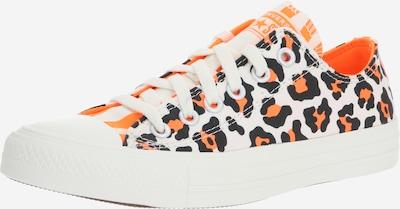 CONVERSE Schuhe 'CTAS OX' in neonorange / schwarz / weiß, Produktansicht