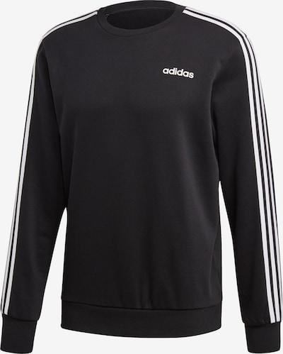ADIDAS PERFORMANCE Sportsweatshirt '3S' in de kleur Zwart / Wit, Productweergave