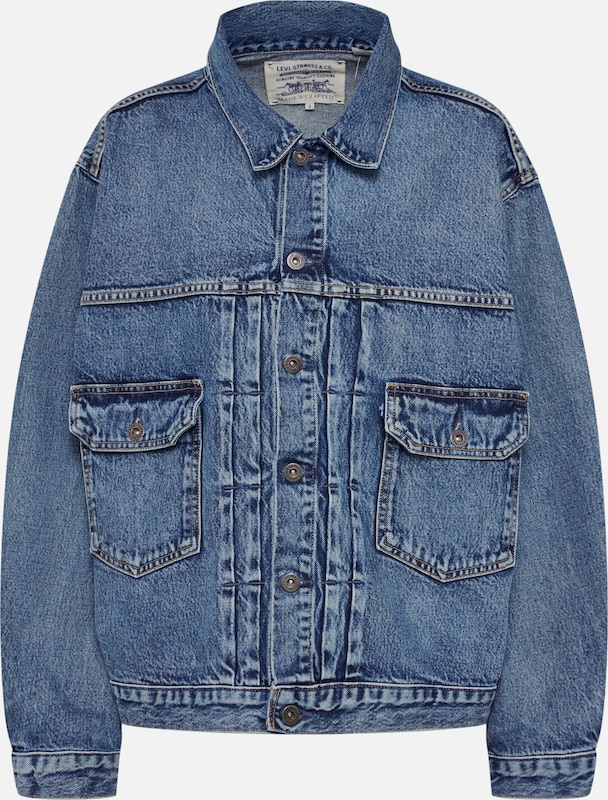 Levi's Made & Crafted Jeansjacke 'Love Letter Trucker' in blue denim, Produktansicht