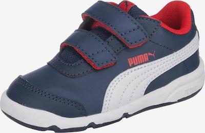 PUMA Sneaker 'Stepfleex 2' in dunkelblau / rot / weiß, Produktansicht