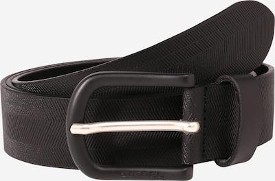DIESEL Gürtel 'B-Spiga' in schwarz / silber, Produktansicht