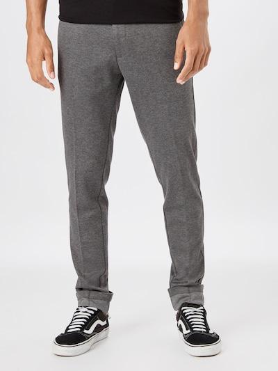 JACK & JONES Chino hlače 'Marco Phil' | pegasto siva barva, Prikaz modela