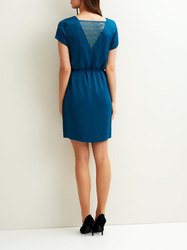 VILA Feminines Rückenspitzen Kleid