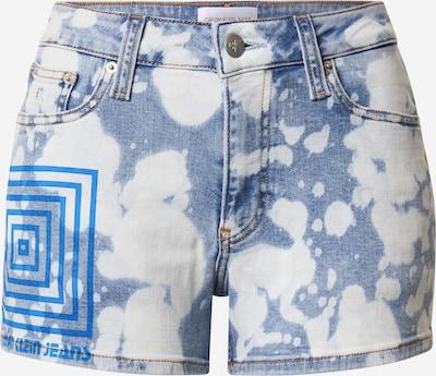 Calvin Klein Jeans Džinsi zils / balts, Preces skats