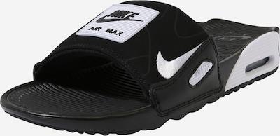 Nike Sportswear Nizki natikači 'NIKE AIR MAX 90 SLIDE' | siva / črna / bela barva, Prikaz izdelka