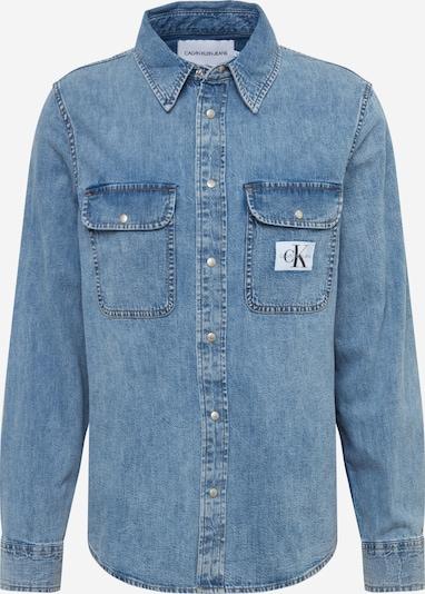 Calvin Klein Jeans Overhemd 'ARCHIVE' in de kleur Blauw denim, Productweergave