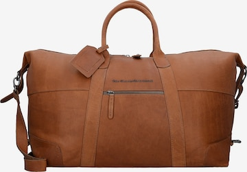 Sac week-end 'Portsmouth' The Chesterfield Brand by Thomas Hayo en marron