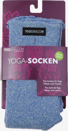 YOGISTAR.COM Yoga-socken in blau, Produktansicht