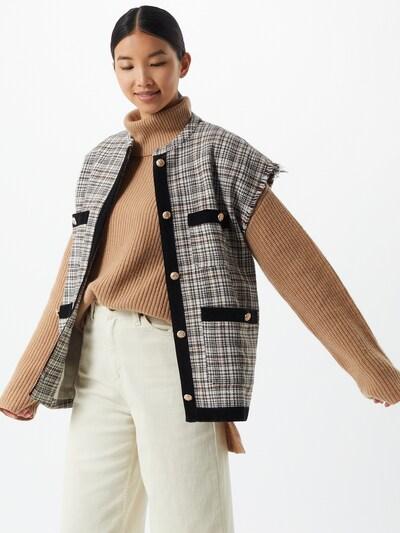 Liemenė iš Moves , spalva - kremo / ruda / šviesiai ruda / juoda, Modelio vaizdas