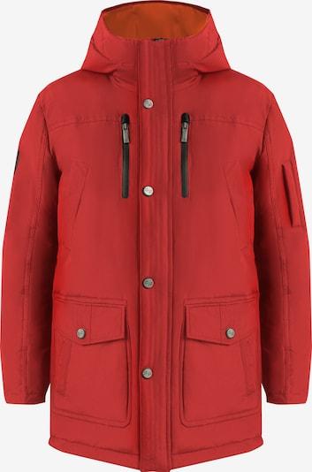 Finn Flare Daunenjacke mit komfortablem Schnitt und modischem Design in rot, Produktansicht