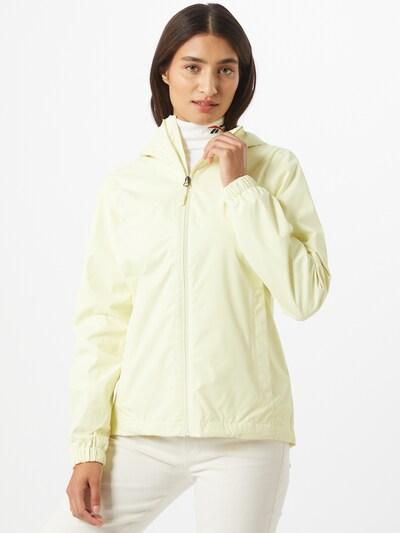 THE NORTH FACE Outdoorová bunda 'Quest' - pastelovo žltá: Pohľad spredu