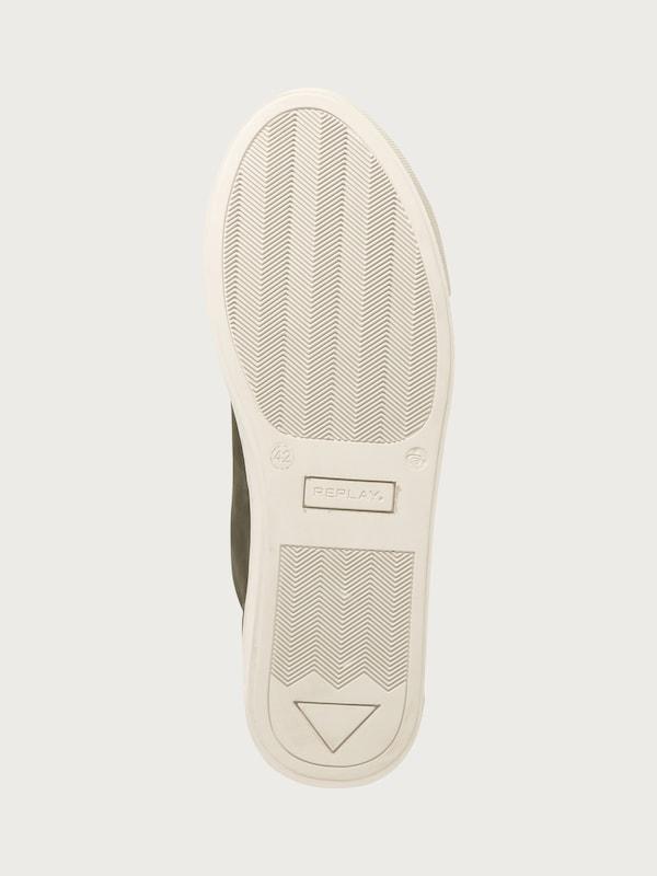 REPLAY Sneaker 'OREGON' aus Leder