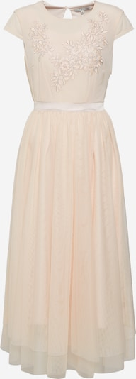 mint&berry Kleid 'Occasion dress with placement embroidery' in beige, Produktansicht