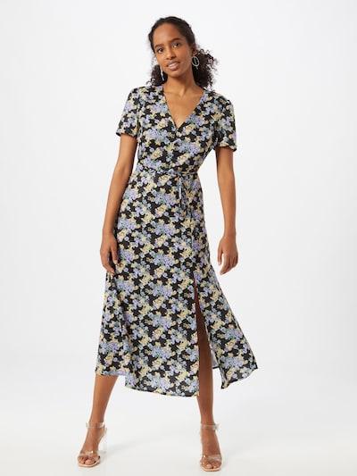 Missguided Kleid 'Tea' in mischfarben / schwarz, Modelansicht