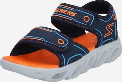 SKECHERS Odprti čevlji 'Hypno-Splash' | mornarska / oranžna barva, Prikaz izdelka
