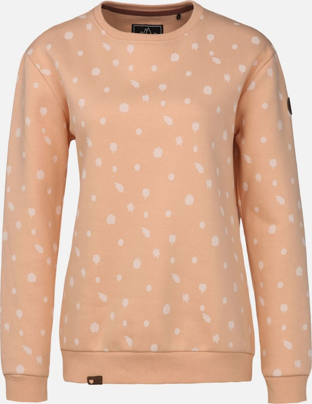 Lakeville Mountain Sweatshirt 'Uelle Dots' in de kleur Rosa, Productweergave