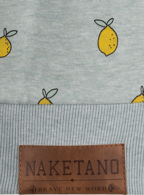 naketano Sweatshirt 'I miss my friend'