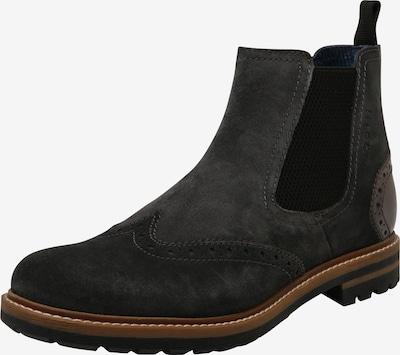 bugatti Chelsea čizme 'Silvestro' u tamo siva, Pregled proizvoda