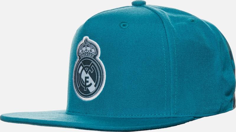 ADIDAS PERFORMANCE 'Real Madrid Flat' Snapback Cap