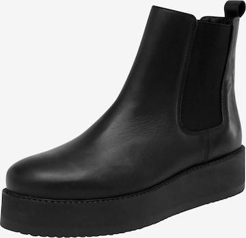 EDITED Chelsea Boots 'Zuri' in Black