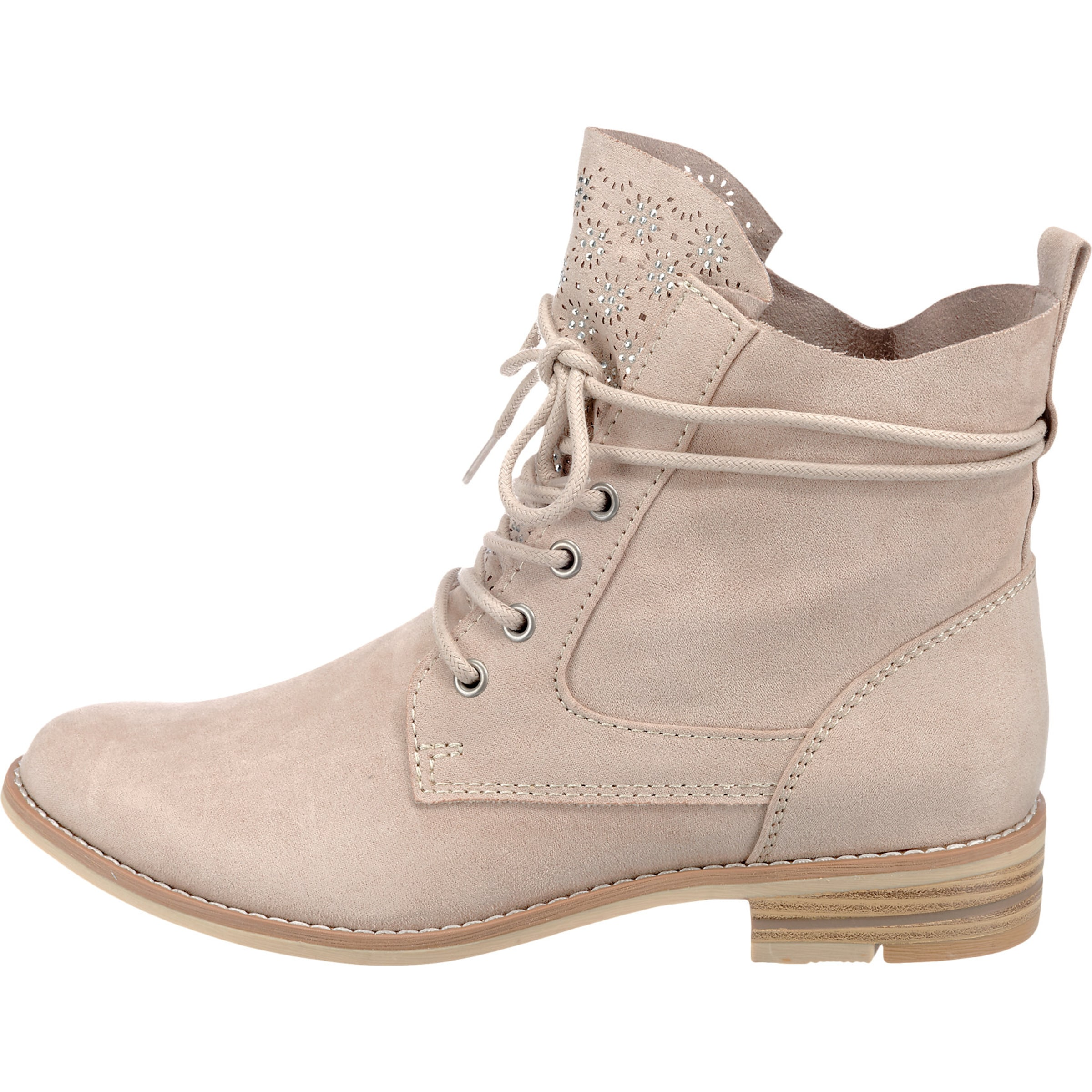 Puder In Tozzi Marco Marco Tozzi In Schnürstiefel Puder Schnürstiefel 8knP0Ow