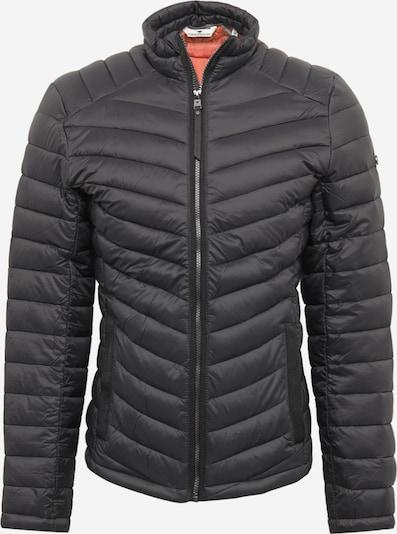 TOM TAILOR Prehodna jakna | črna barva, Prikaz izdelka