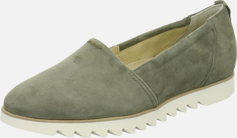 Paul Green Slipper in oliv, Produktansicht