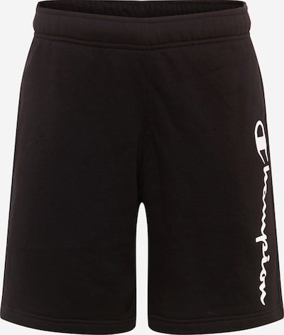 Champion Authentic Athletic Apparel Bermuda in schwarz / weiß: Frontalansicht