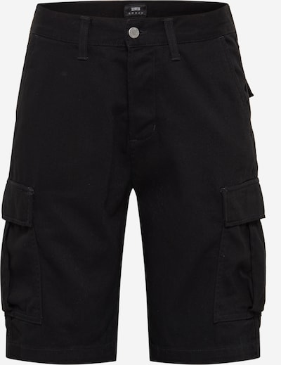 EDWIN Jeans '45 Combat' in black denim, Produktansicht