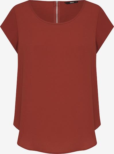ONLY Koszulka 'VIC' w kolorze rdzawoczerwonym, Podgląd produktu