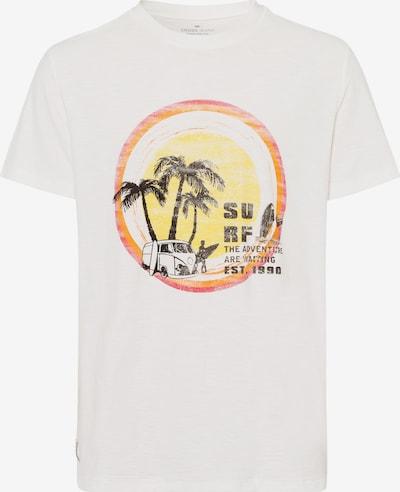 Cross Jeans Shirt in beige / gelb / orange, Produktansicht