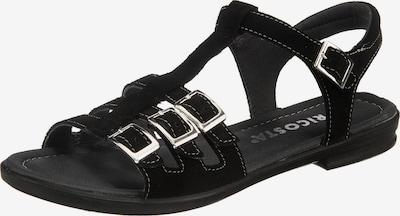 myToys-COLLECTION Sandalen 'Lini' in schwarz, Produktansicht
