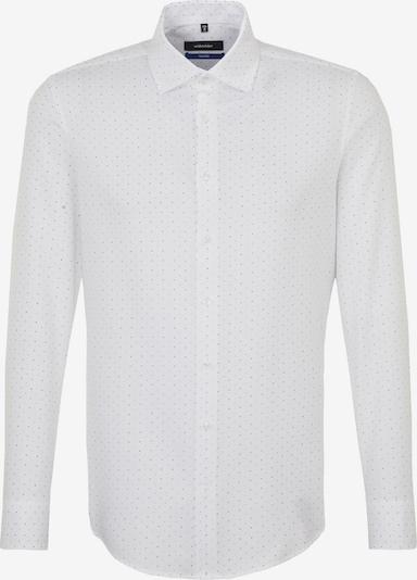 SEIDENSTICKER Zakelijk overhemd in de kleur Marine / Wit, Productweergave