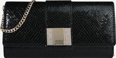 Clutch 'NIGHT TWIST' GUESS pe auriu / negru, Vizualizare produs
