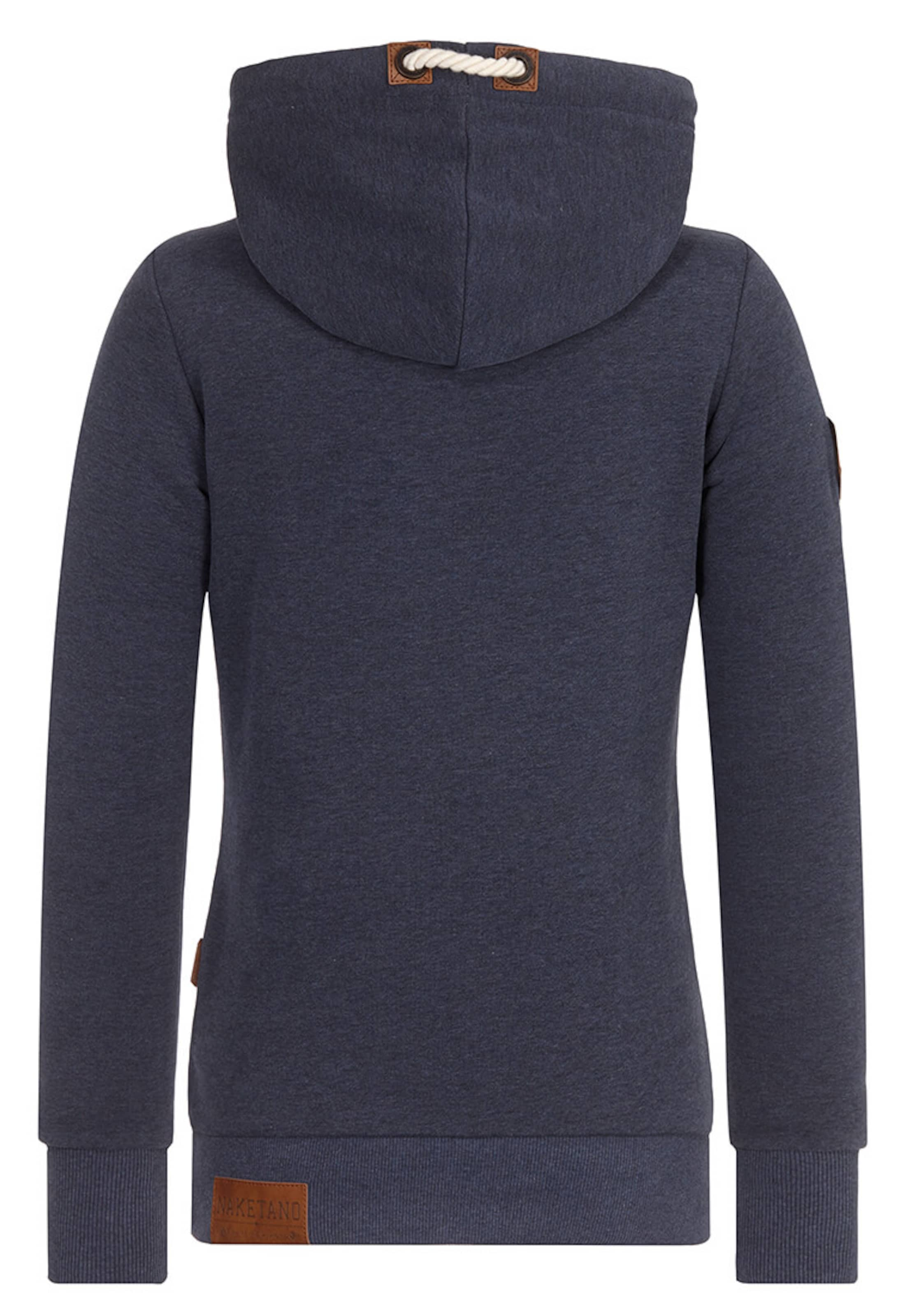 Blanc En NuitMarron shirt Sweat 'darth' Bleu Naketano SMpqLzGjUV
